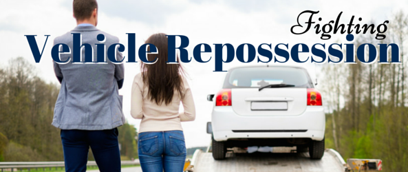 Can filing for Bankruptcy prevent Vehicle Repossession?